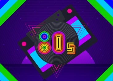 1.Flat-80`s-Style-Background-1